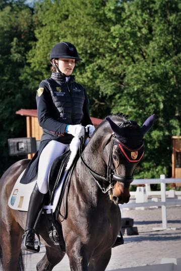 Justine Ludot et Bellevue CSIY - CDIO5* de Compiègne